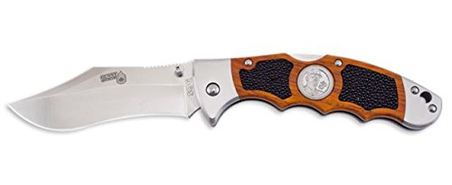 Sog Specialty Knives & Tools Gfl01-L Gunny Knife With Straight Edge Folding 7-Inch Vg-10 Steel Blade And Cocobolo Hardwood Handle, Satin Finish