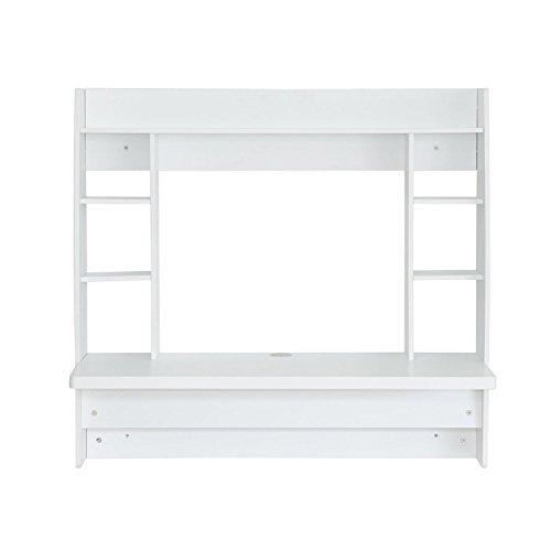 homcom-831-010WT-Schreibtisch-Holz-wei-107-x-50-x-100-cm