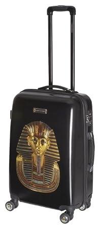 National Geographic Luggage Balboa 24 Inch Hardside Spinner, Black Tut, One Size