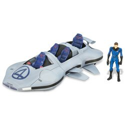 Picture of Hasbro Fantastic Four: Rise of the Silver Surfer - Fantasticar with Mr. Fantastic Figure (B000T9TO4A) (Fantastic Four Action Figures)