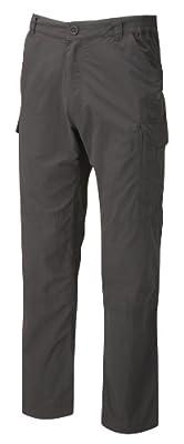Craghoppers Men's Nosilife Cargo Regular Trousers, Black Pepper, 34