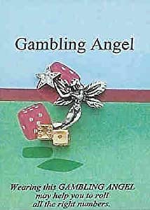 Gambling Angel Pin