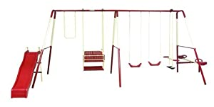Playsafe Middleton 6-Leg Swing Set