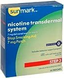 sunmark Nicotine Transdermal System - Step 3