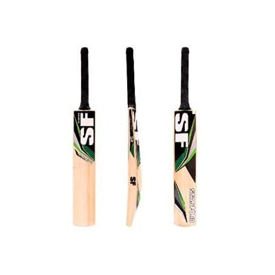 SF Cricket Bat Kashmir Willow Jumbo Full Size with Padded Cover