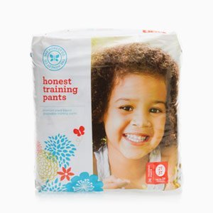 The Honest Company Training Pants Premium Eco-Friendly Disposable Training Pants (2T/3T, Robots & Trucks) front-718165