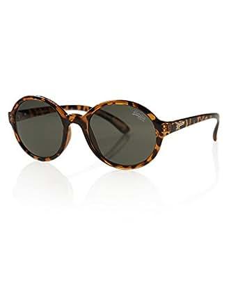Amazon.com: Superdry Tortoise Cotton Round Sunglasses Lens Category 3