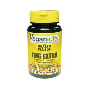Veganicity TMG Extra Heart Health Supplement 60 Tablets