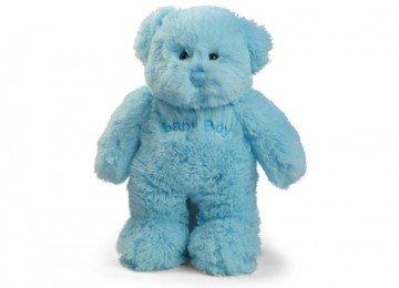 Plushland Inc. Plush 09-601 Blue Baby Boy Bear