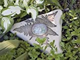 Amaranth Stoneware Butterfly Puddler White