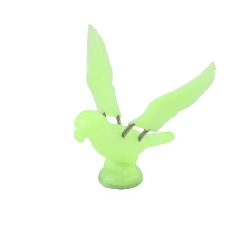 Vogel-Shaped Light Green Plastic magnetischen Aufkleber Kühlschrank Kühlschrank Ornament