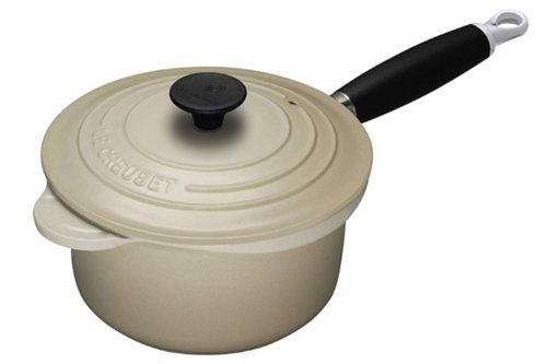 Le Creuset Cast Iron Saucepan, Almond, 18 cm