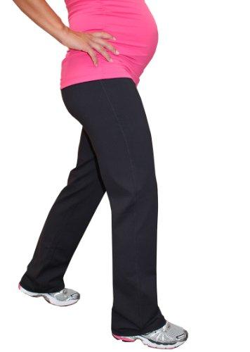 Impact Fitness - Maternity Active/Yoga Long Pant, Brushed Fabric (Short Inseam)