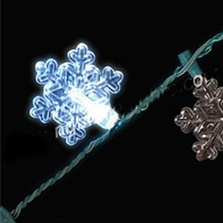 Snowflake Light Up Necklace