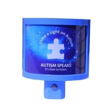 Amerelle Autism Speaks LED Night Light