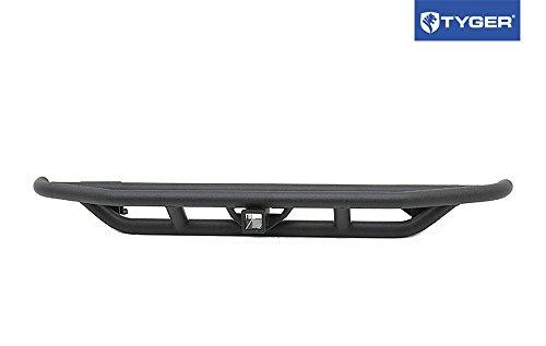 TYGER Rock Crawler Textured Black Rear Bumper Fits 87-06 Jeep Wrangler YJ/TJ (Rear Tj Bumper compare prices)