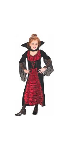 Coffin Vampiress Costume - Child Costume