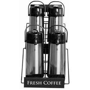 Newco 4-Pot Airpot Rack Best Coffee Maker Reviews