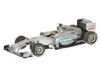 Mercedes Petronas W02 (Michael Schumacher - Belgian GP 2011) Diecast Model Car