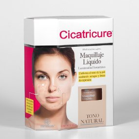 Cicatricure Maquillaje Liquido Tono Natural 30ml (Maquillaje Natural compare prices)