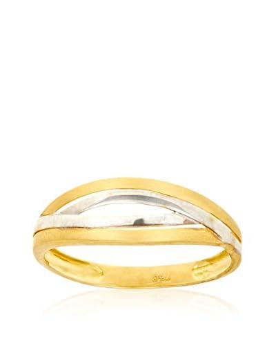 GOLD & DIAMONDS Anello [oro bicolore 18 Kt]