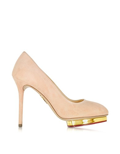 charlotte-olympia-womens-e001231691-nude-suede-pumps
