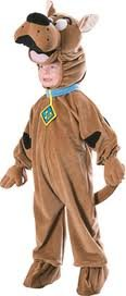 Just For Fun Scooby-Doo(TM) Deluxe Fleece Fancy Dress Costume (child size) - Small