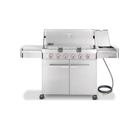 Weber Propane Grill Summit S-620 NG Stainless Steel
