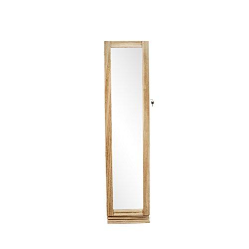 Armadio portagioie con anta a specchio