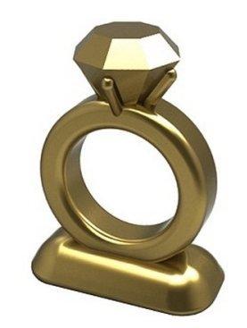 Monopoly Klassik Limited Edition: Goldene Hochzeitsring-Spielfigur