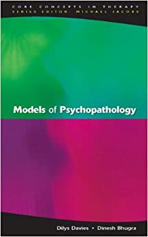 Cognitive therapy theory of psychopathology and