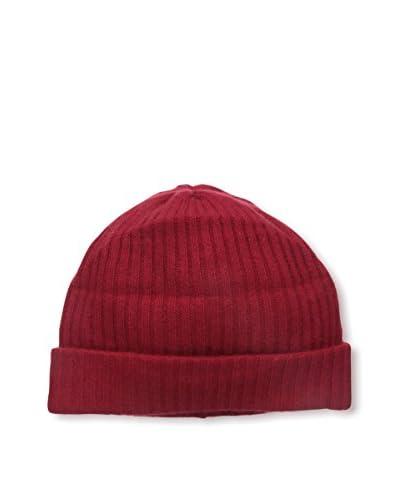 Portolano Women's Cashmere Hat, Rosso Cilegia