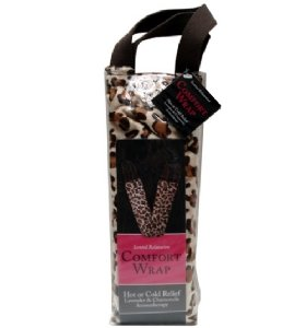 Swissco Stress Relief Comfort Wrap With Leopard Print PVC Bag