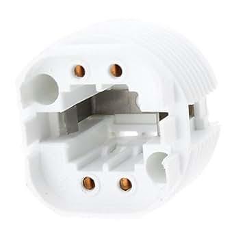 g24 base de douille d 39 ampoule support de lampe luminaires et eclairage. Black Bedroom Furniture Sets. Home Design Ideas
