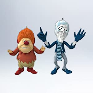 Hallmark 2012 Keepsake Ornaments QXI2871 Heat Miser And Snow Miser
