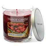 Yankee Candle Scented Glass Tumbler (Black Cherry)