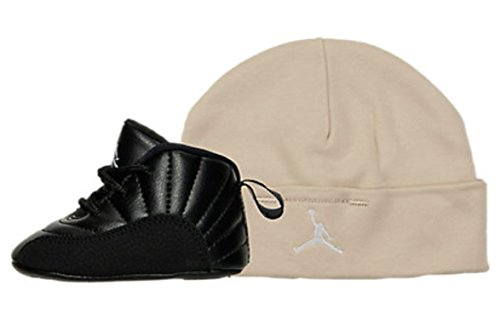 Nike Jordan Retro 12 THE MASTER Gift Pack Crib Black Rattan White Metallic Gold 378139-013 (1C)