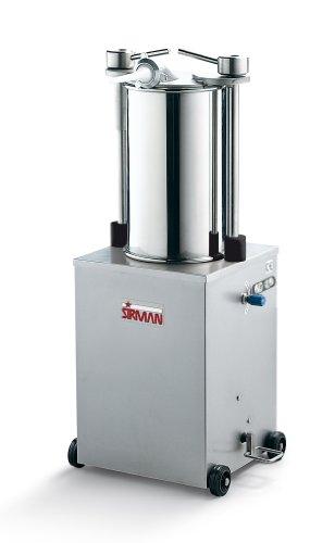 Sirman IS 25 IDRA Hydraulic Sausage Stuffers, Stainless Steel Construction