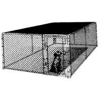 Sunblock Kennel Cover, 10' x 10'