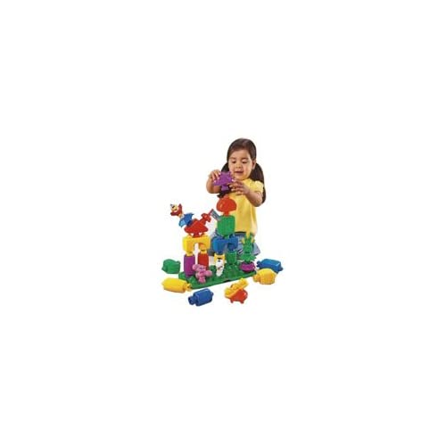 Pop Onz Building System Pop n Twirl Building Table with