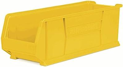 Akro-Mils Super-Size Akrobins - 11X29-78X10quot - Yellow - Yellow - Lot of 4