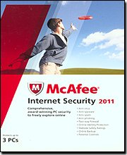 McAfee Internet Security 2011 - for up to 3-Users