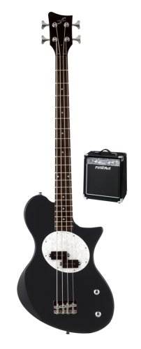 bass guitars first act me114 single cutaway bass guitar with split single coil black rosewood. Black Bedroom Furniture Sets. Home Design Ideas