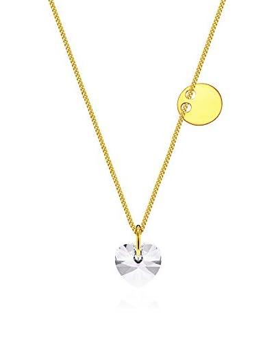 Coccola Collar  plata de ley 925 milésimas bañada en oro