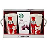 Starbucks Dark Caffe Verona Coffee for Two with Mugs Holiday Gift Set
