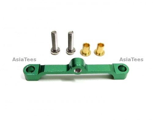 Gpm Racing #Tt049Sg Aluminum Steering Tie Rod With Screws Set Light Green For Tamiya Tt-01D