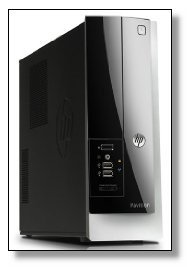Newest HP Pavilion Slimline Business Desktop (Intel Quad-Core Processor up to 2.66