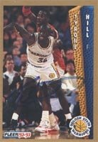 Tyrone Hill Golden State Warriors 1992 Fleer Autographed Hand Signed Trading Card. by Hall of Fame Memorabilia