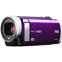 JVC Everio GZ-EX210 1080p HD Wi-Fi Everio Digital Video Cameravideo Camera with 3-inch LCD Screen Violet GZ-EX210VUS from JVC