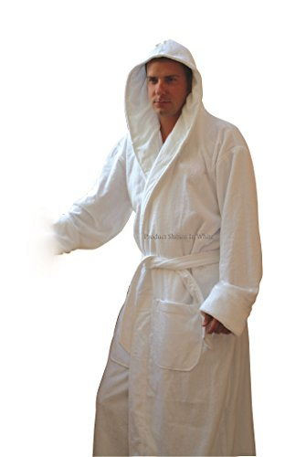 Hooded Terry Spa Bathrobe